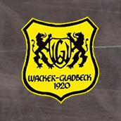 Wacker Gladbeck Logo - Mit Platz im Hintergrund