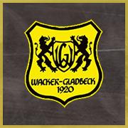 Wacker Gladbeck Logo - Mit Platz im Hintergrund & gelbe Umrandung