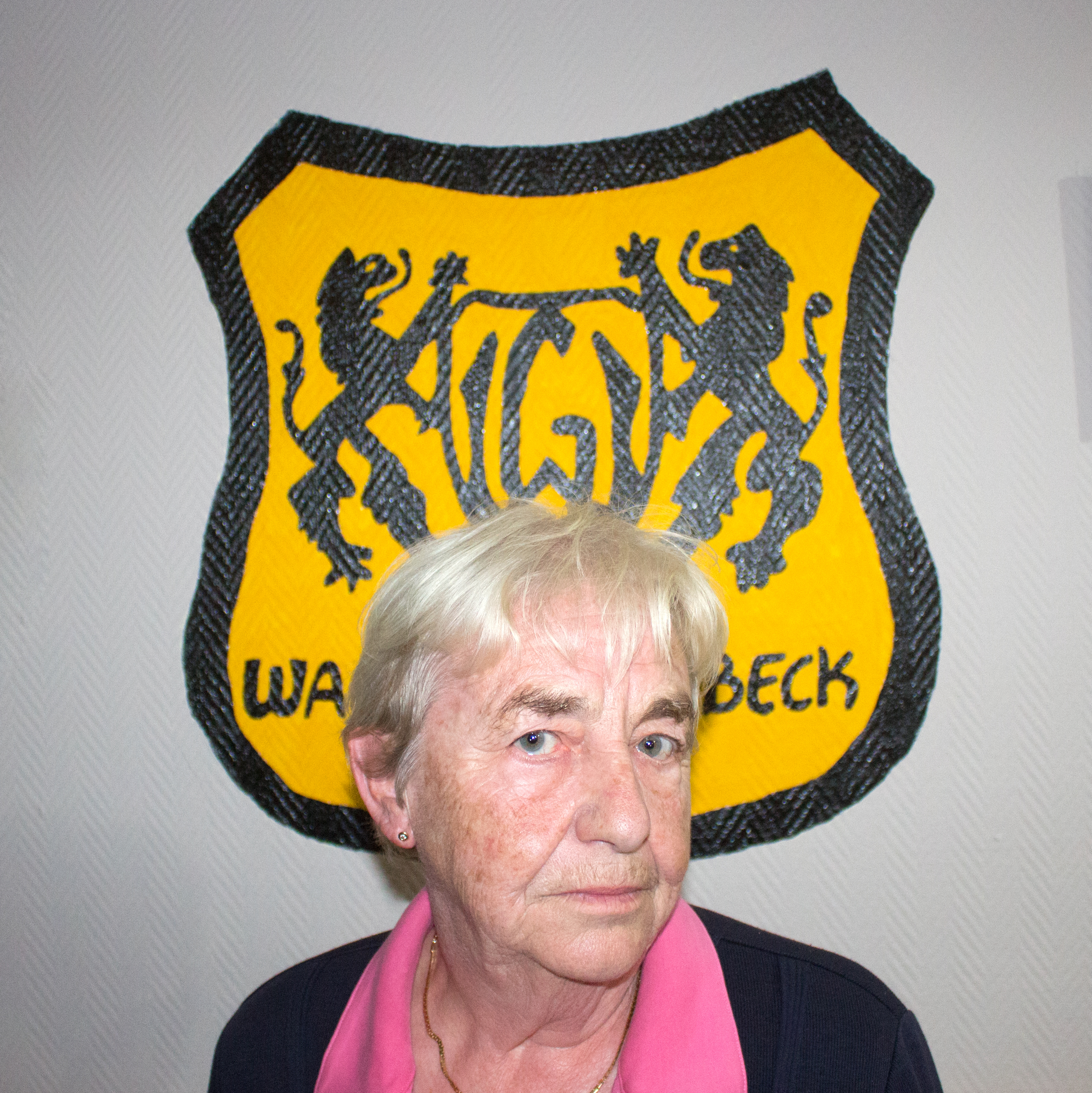 Hildegard Goebel - Ehrenvorsitzende bei Wacker Gladbeck