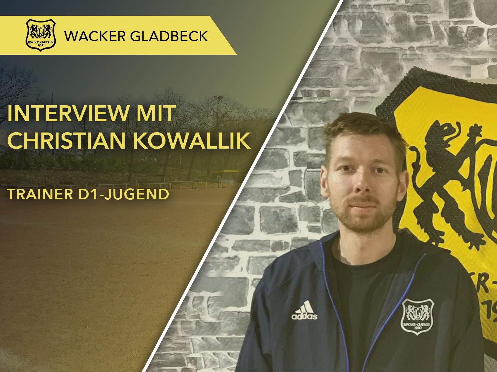 Wacker Gladbeck - Interview mit Jugendtrainer Christian Kowallik
