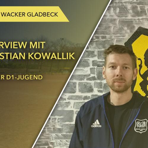 Interview mit Jugendtrainer Christian Kowallik - Wacker Gladbeck