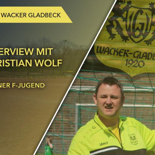 Interview mit Jugendtrainer Christian Wolf - Wacker Gladbeck