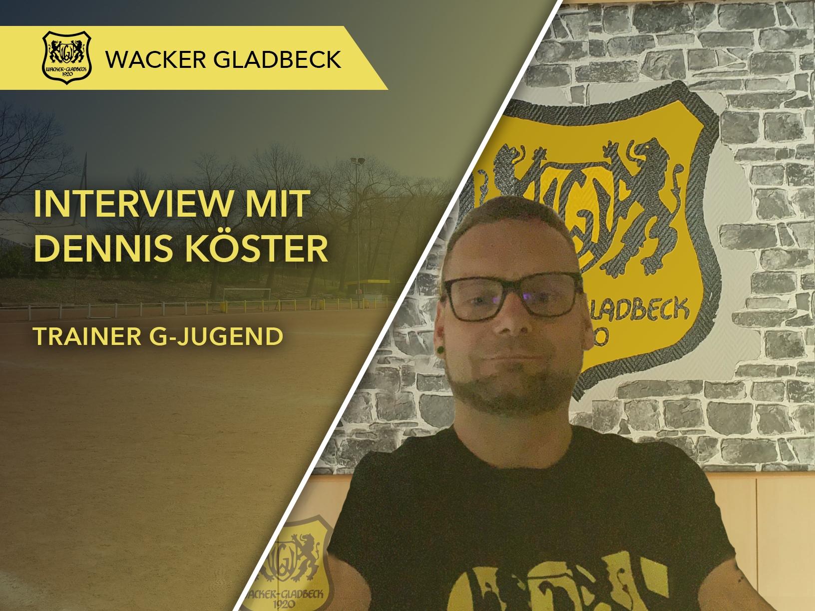 Wacker Gladbeck - Interview mit Jugendtrainer Dennis Köster