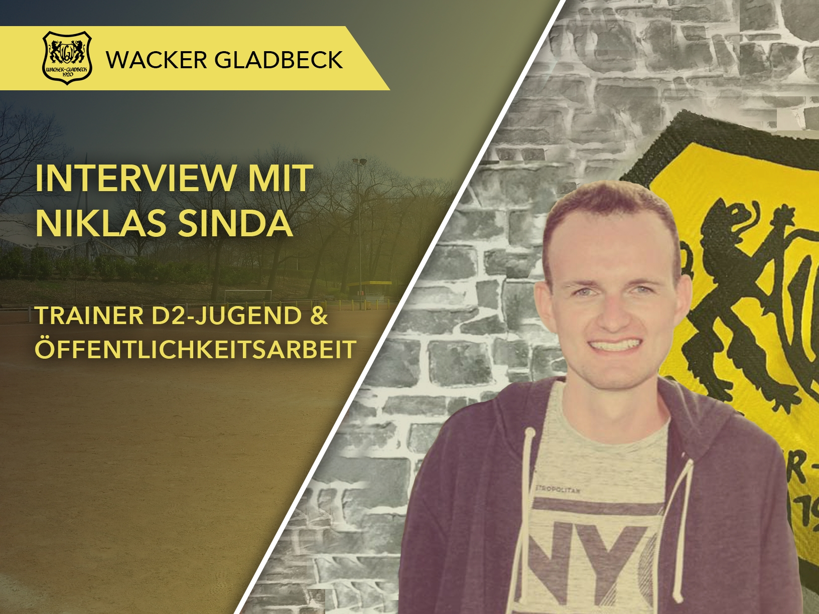 Wacker Gladbeck - Interview mit Jugendtrainer Niklas Sinda
