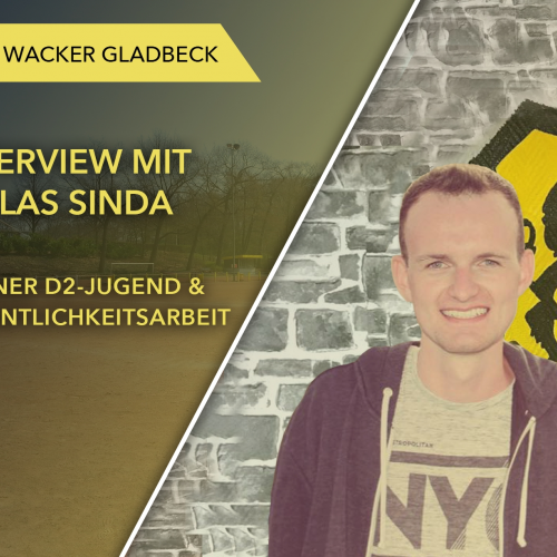 Interview mit Jugendtrainer Niklas Sinda - Wacker Gladbeck