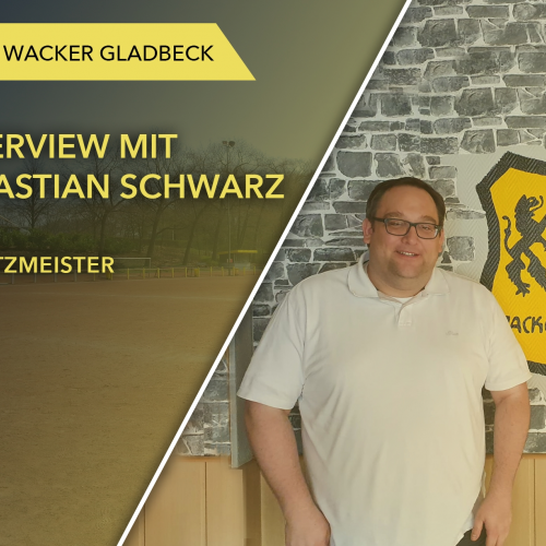 Interview mit Schatzmeister Sebastian Schwarz - Wacker Gladbeck