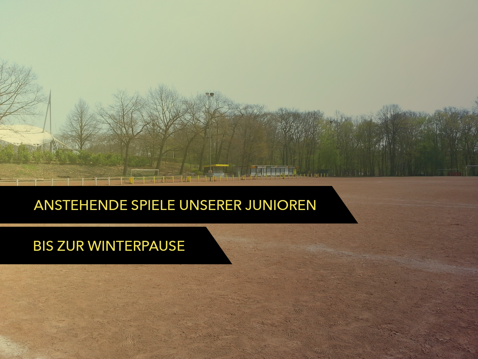 Wacker Gladbeck - Anstehende Spiele unserer Junioren bis zur Winterpause 2019/2020