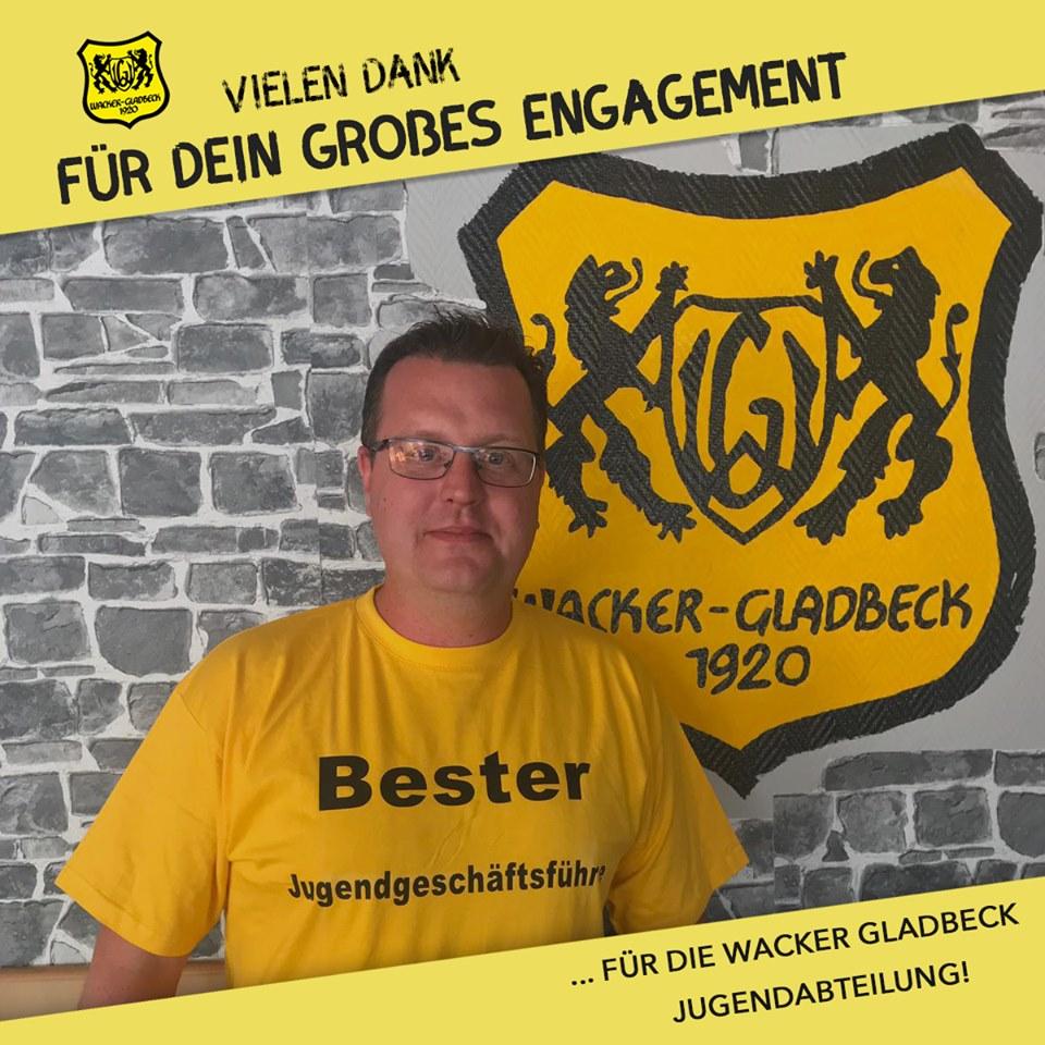 Großer Dank für das Engagement in der Jugend - Wacker Gladbeck