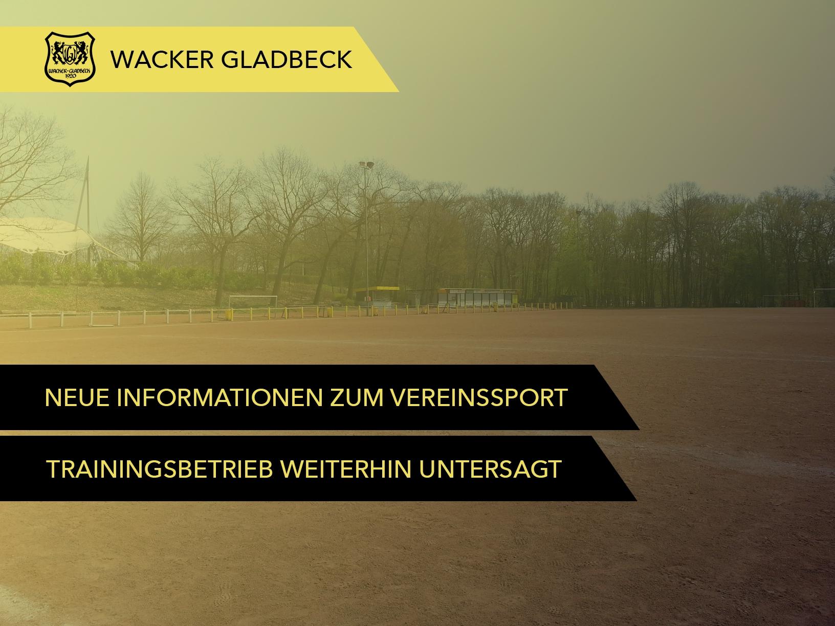 Wacker Gladbeck - Informationen vom DFB und vom LSB zum Vereinssport