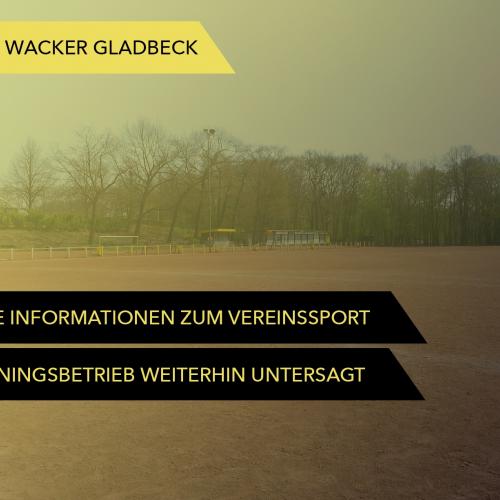 Informationen vom DFB und vom LSB zum Vereinssport - Wacker Gladbeck