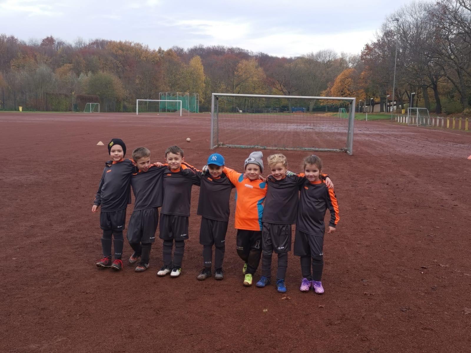 Wacker Gladbeck - Riesen Lob an die 7 kleinen Kämpfer unserer Minis