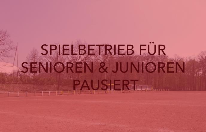 Wacker Gladbeck - Spielbetrieb für Senioren und Jugend pausiert