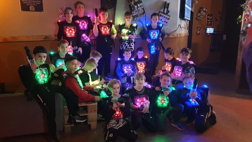Wacker Gladbeck - Weihnachtsfeier unserer E-Jugend im Lasertag Oberhausen