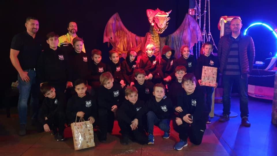 Weihnachtsfeier unserer E-Jugend im Planet Lasertag Oberhausen